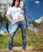 promotional model: sabina E in Cape Town