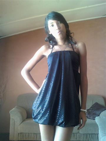 promotional model: Tayane A in Cape Town