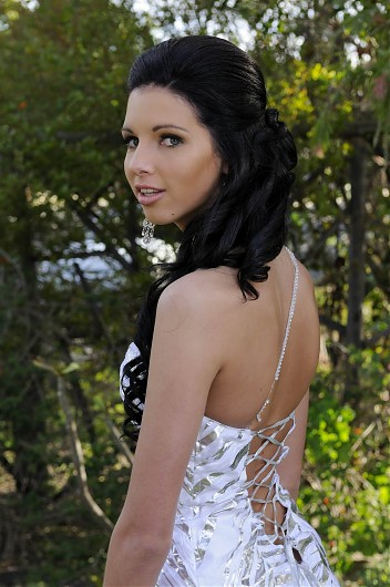 promotional model: Janine V in Cape Town