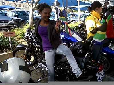 promotional model: Itu K in Cape Town