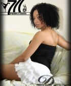promotional model: Nazli T in Cape Town