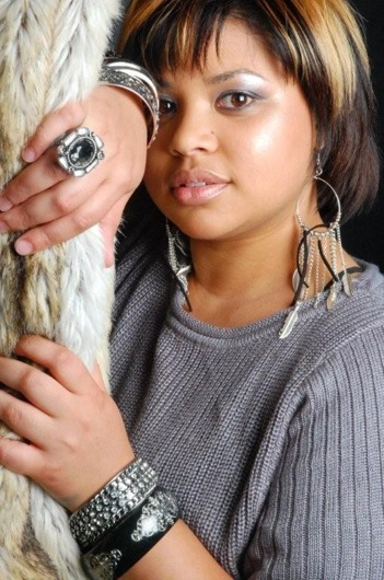 promotional model: Nihal G in Cape Town
