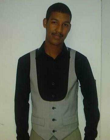 promotional model: Waseem V in Cape Town
