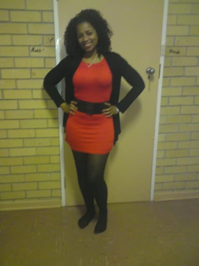 promotional model: Athabile NJikelana A in Cape Town