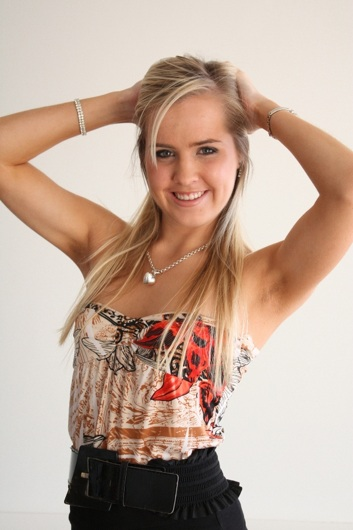 promotional model: Chanelle V in Cape Town
