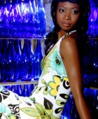 promotional model: Anthea O in Johannesburg