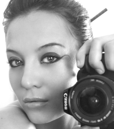 promotional model: Bianca J in Cape Town
