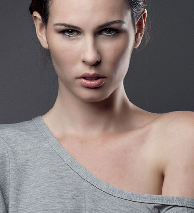 promotional model: Leigh D in Cape Town