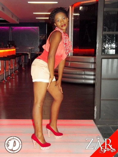 promotional model: Nandipha S in Cape Town