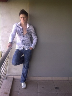 promotional model: Joshua Michael L in Cape Town