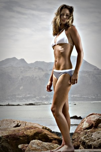 promotional model: Cindy-Lee B in Cape Town