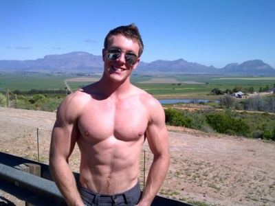 promotional model: Jonathan J in Cape Town