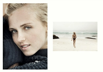 promotional model: Nina O in Cape Town