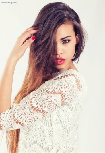 promotional model: Marianna A in Cape Town