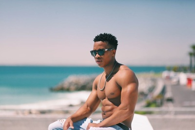 promotional model: Alungile Roger W in Cape Town