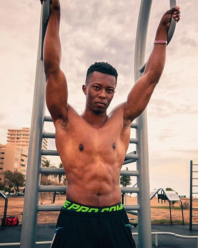 promotional model: Shingai P in Cape Town