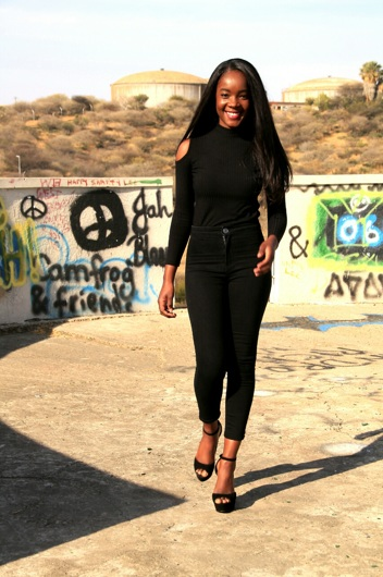 promotional model: Nalitye S in Cape Town