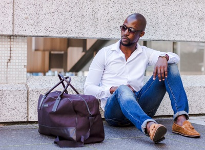 promotional model: Lwando M in Cape Town