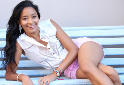 promotional model: Chane M in Cape Town