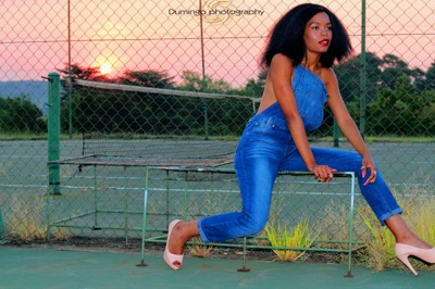 promotional model: Queen M in Witbank