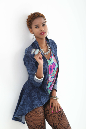 promotional model: Ntesang Anastasia S in Cape Town