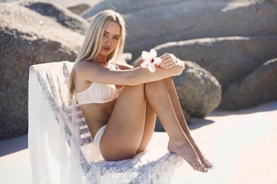 promotional model: Sinead M in Cape Town