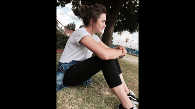 promotional model: Chantelle O in Potchefstroom