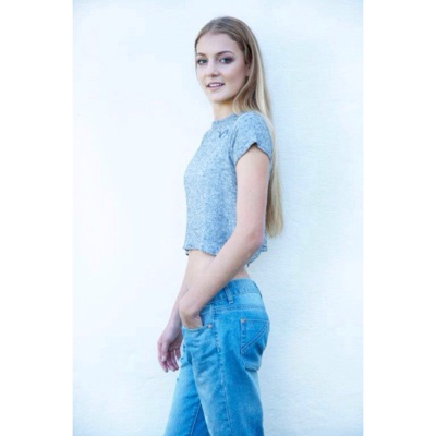 promotional model: Hayley G in Cape Town
