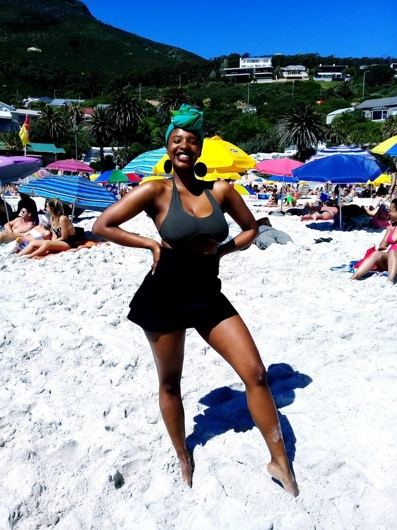 promotional model: Babalwa M in Cape Town
