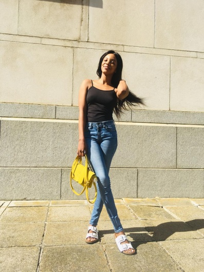 promotional model: Songeziwe P in Cape Town