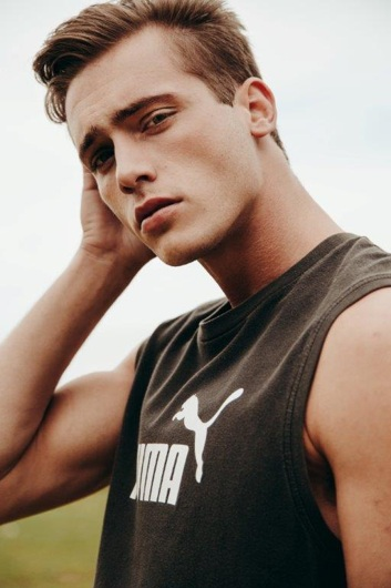 promotional model: Cayden P in Cape Town
