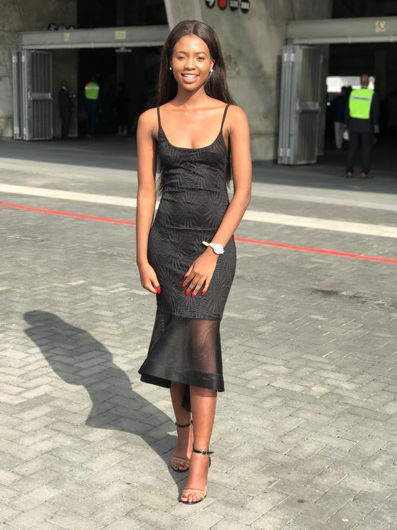 promotional model: Abenathi N in Cape Town