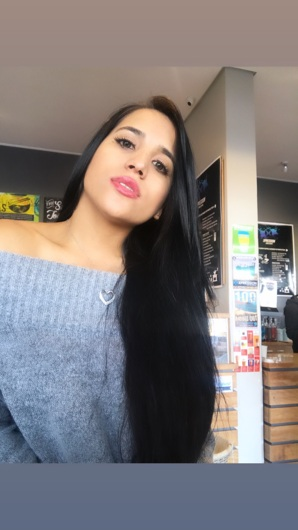promotional model: Mariam P in Cape Town