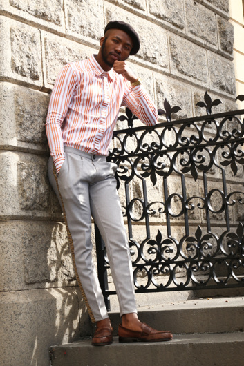 promotional model: Sikhulule M in Cape Town