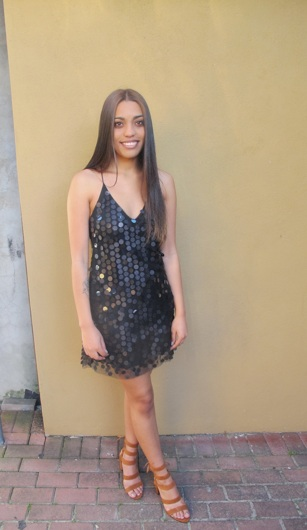 promotional model: Nadia L in Cape Town