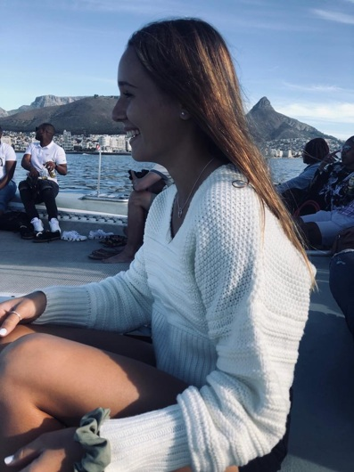 promotional model: Kirsten W in Cape Town