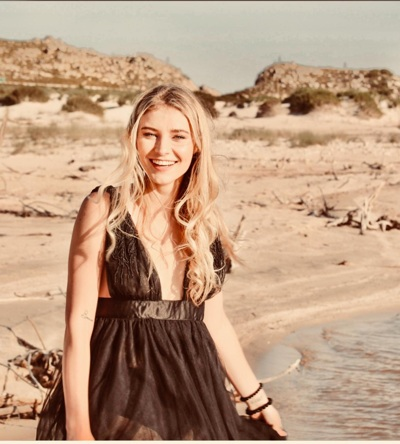 promotional model: suzelle R in Cape Town