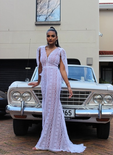 promotional model: Thameenah D in Cape Town