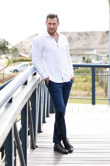 promotional model: Willem R in Durban