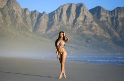 promotional model: Maria V in Cape Town