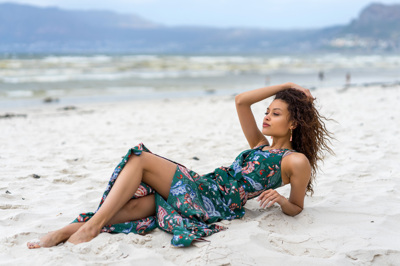promotional model: Courtney-Lee A in Cape Town