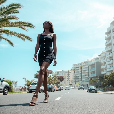 promotional model: Olga M in Cape Town