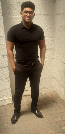 promotional model: Kyle T in Cape Town