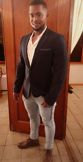 promotional model: Richard S in Cape Town