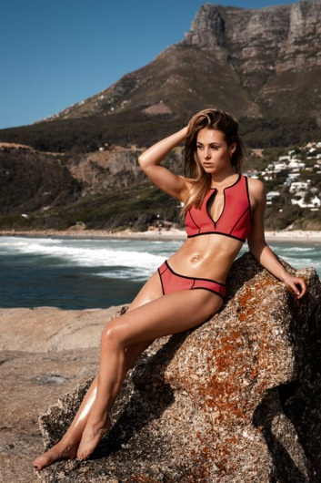 promotional model: Julia P in Cape Town