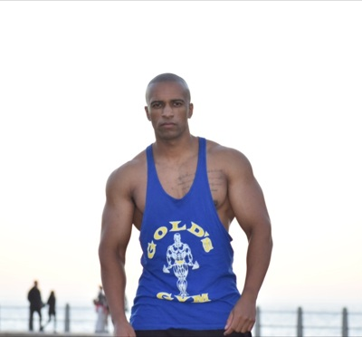 promotional model: Justin J in Cape Town