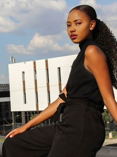 promotional model: phumzile S in Johannesburg