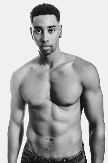 promotional model: Justin D in Cape Town