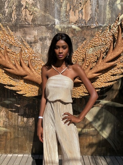 promotional model: sisipho N in Cape Town