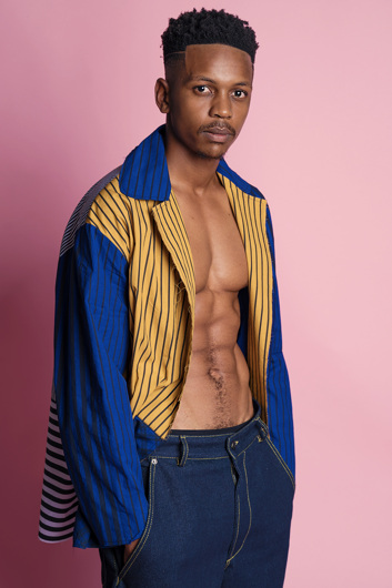 promotional model: Mangaliso S in Cape Town